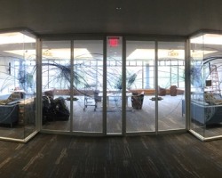 Printed Glass Film Installation