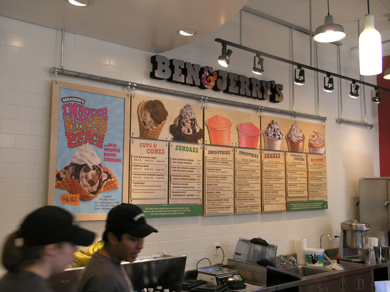 Ben & Jerry's Scoop Shops