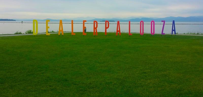 Dealerpalooza Letters on the Lawn
