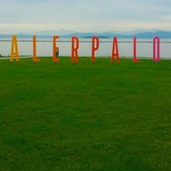 Event Project Spotlight: Five-foot-tall custom lettering for Dealer.com event on the Lake Champlain waterfront