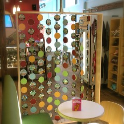 Lid Wall for Ben & Jerry's Scoop Shops