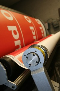 large scale digital printing