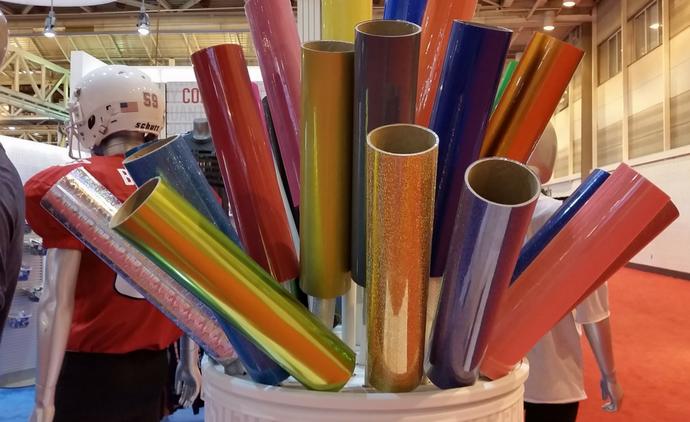 Colorful Paper - inspiration - SGIA trade show 2017 - Lightworks