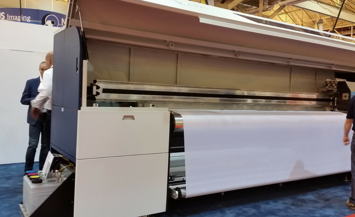 Huge Fabric Inkjet - SGIA 2017